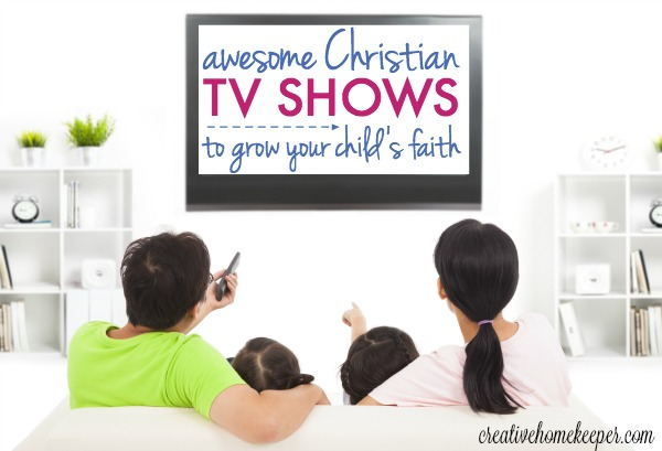 Looking for some high quality, entertaining and truth planting Christian TV shows both you and your kids will love? Check out some of our favorite family ones we watch and enjoy together.