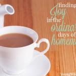 Finding Joy in Homemaking
