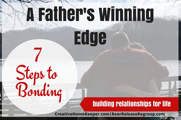 Father's play a critical role in the shaping of their children's hearts. A father's winning edge is his ability to love, lead and God first in his family. These 7 tips to father-child bonding are the building blocks to a strong and stable family.