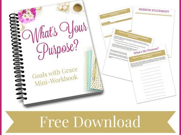 The Best Kept Secret to Being a Goal Setting Rockstar {Plus a Free Printable Guide!}