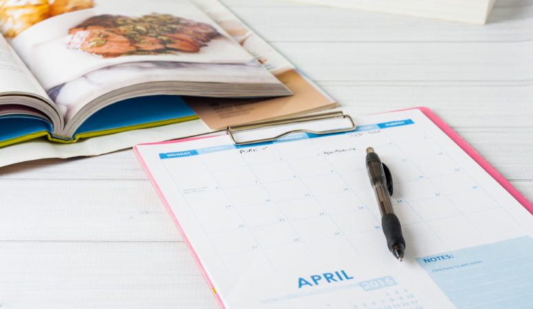Create a Monthly Meal Plan
