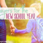 Prayer Calendar for the School Year
