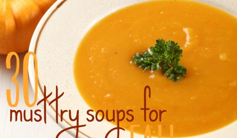 Must Try Soups for Fall {Add them to Your Meal Plan Today!}
