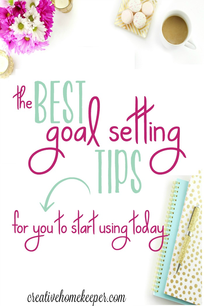 "Ready to be more intentional and set goals that matter today? These goal setting tips will inspire you to action and help you set goals that matter TODAY! Don't wait for the ""perfect"" time or start of the year, intentional goal setting begins with YOU!"