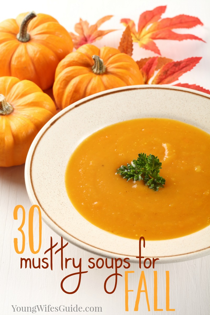 Fill your fall meal plan up with these warm, hearty and comforting must try soups for fall!
