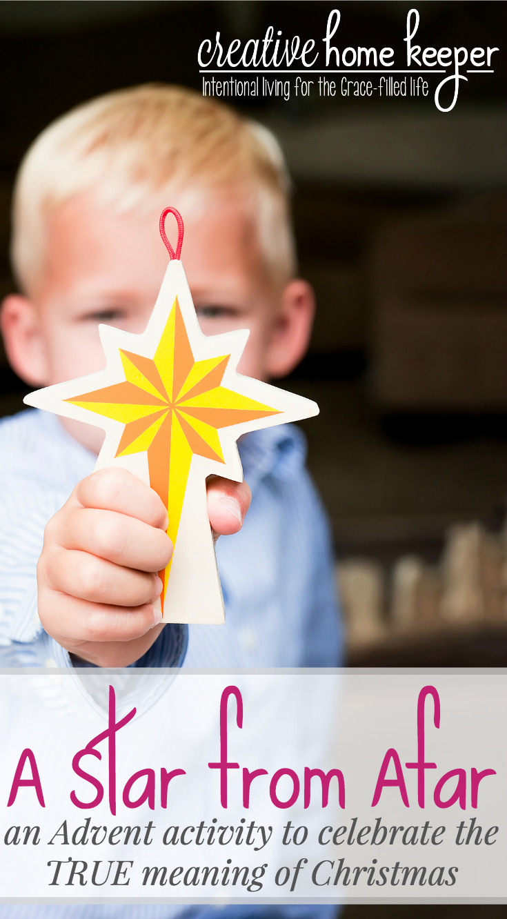Celebrate the true meaning of Christmas this Advent with a Star From Afar, a complete Scripture based Advent experience that builds excitement as your child counts down the days until Christmas morning.