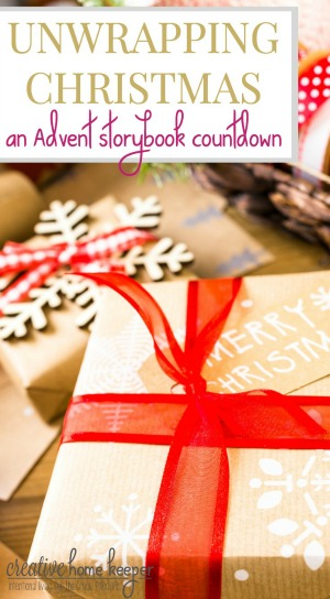 Advent storybook countdown