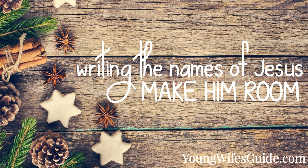 Writing the names of Jesus is such a simple thing yet it has the opportunity to dramatically impact your faith!