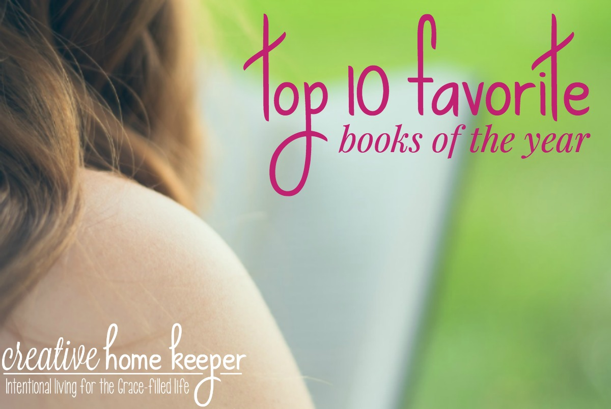 Top 10 Favorite Books of the Year