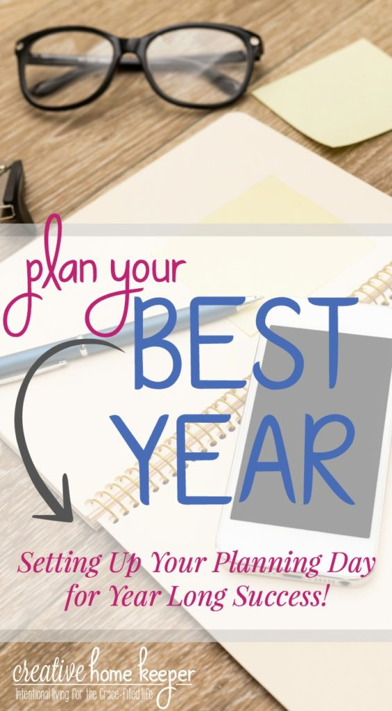 Ready to set your year up for success from the beginning? Plan your best year yet with a planning day to organize your entire year with these 9 tasks. Setting aside time now will make a big impact on what you accomplish this year!