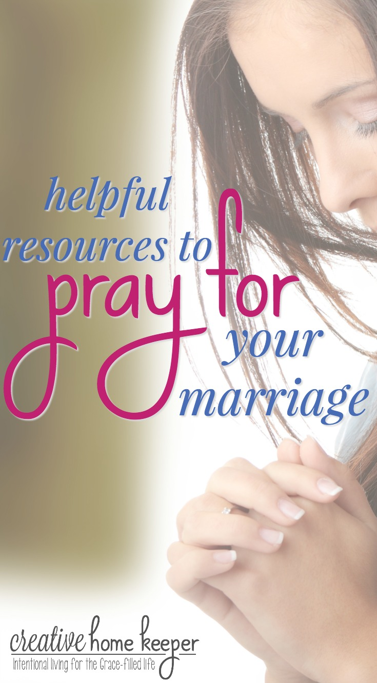 Do you regularly pray for your marriage? No matter what state or season your marriage is in, prayer has the ability to completely transform everything. Don't know where to start? Check out these helpful resources to pray for both your marriage and your husband. Prayer is truly heart transformative!