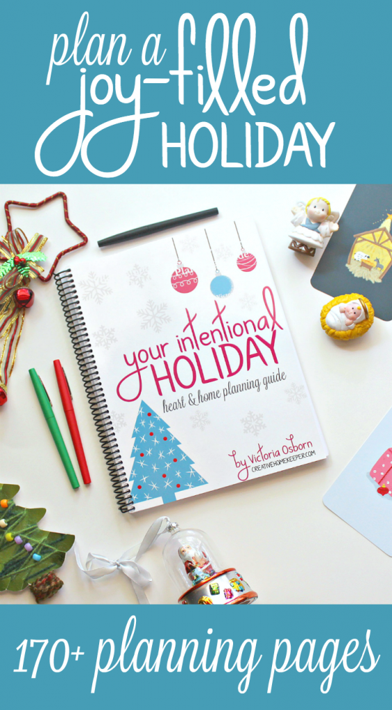 Your Intentional Holiday Heart & Home Planning Guide