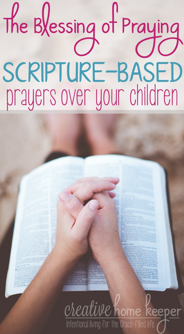 Praying for our children is such a blessing but imagine the impact of praying Scripture-based prayers regularly will have on them? Scripture-based prayers can radically transform your prayer life and greatly impact your entire family!