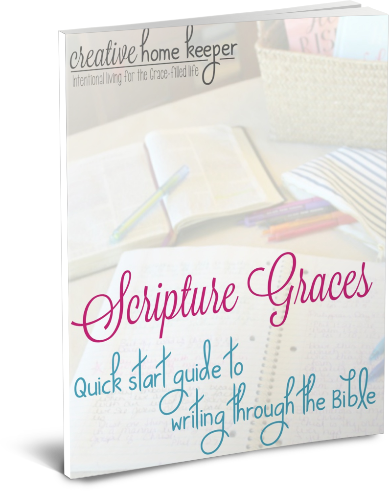 Scripture Graces: Quick Start Guide to Writing through the Bible