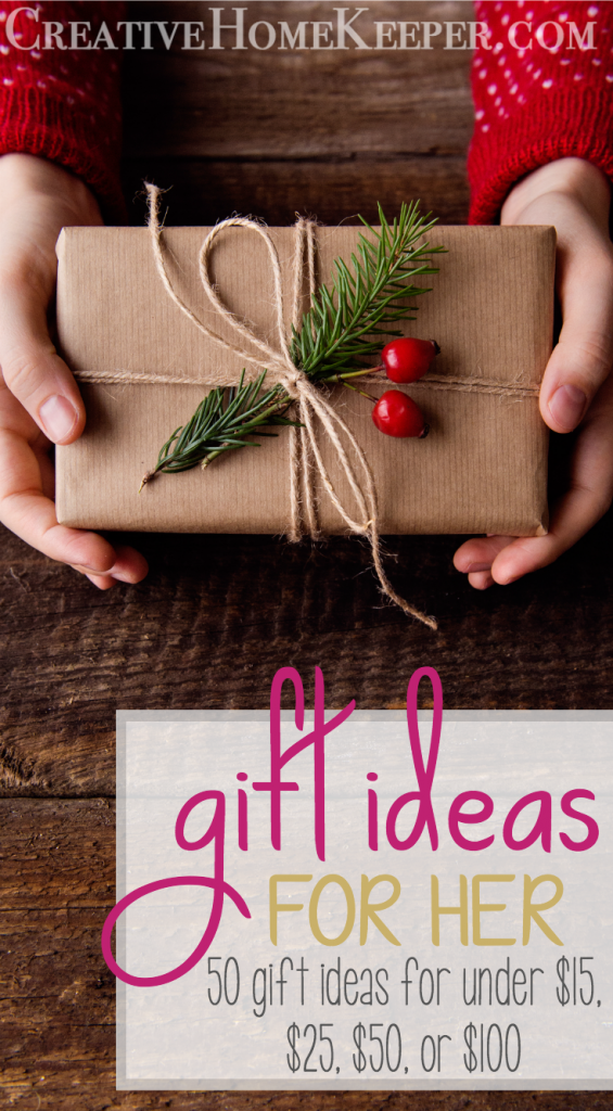 Looking for the perfect gift ideas for her? This ultimate gift guide for moms, grandmothers, sisters and best friends contains gift ideas for her for all budgets. These are perfect gift ideas for the women in your life for Christmas, Mother's Day, birthdays or any special day!