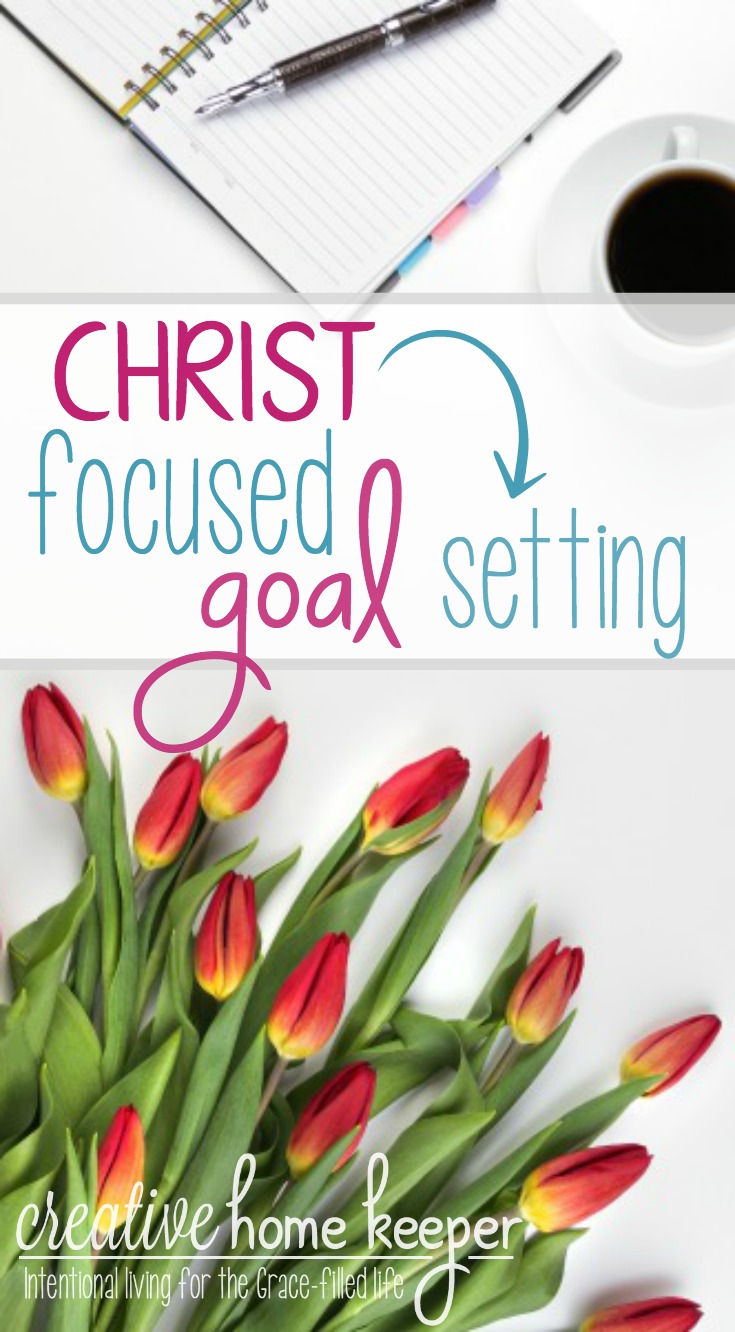 Want to make real and last changing this year? Christ-focused goal setting is the only way to really be intentional and purposeful in your New Year's goal planning.