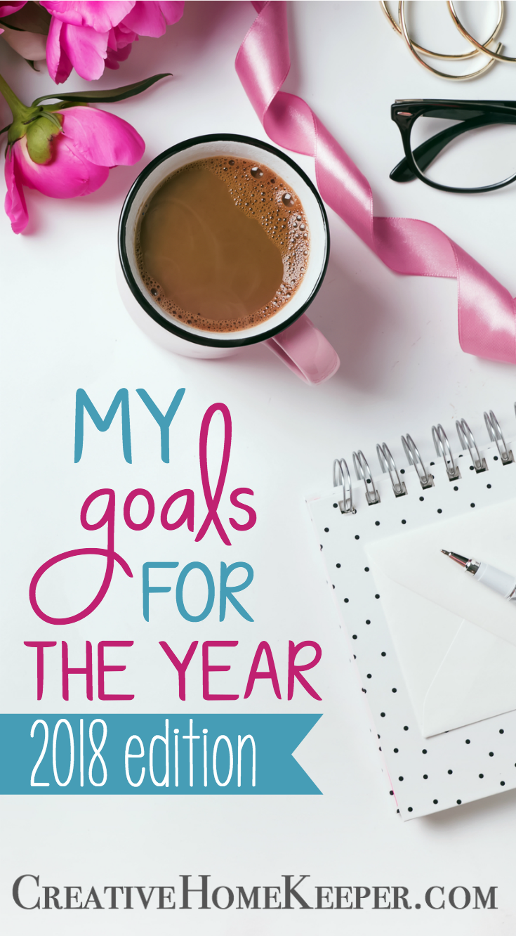 Have you set your goals for 2018 yet? I'm a big fan of setting graceful goals that are intentional and purposeful and that is why I'm sharing my goals for 2018 with you today!
