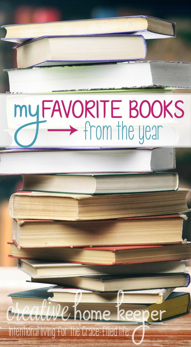 My favorite books read from the year.