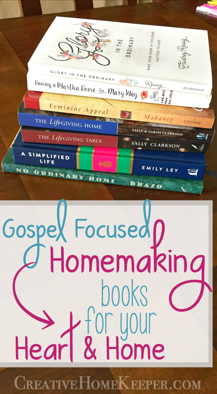 9 Must read Gospel-focused homemaking books