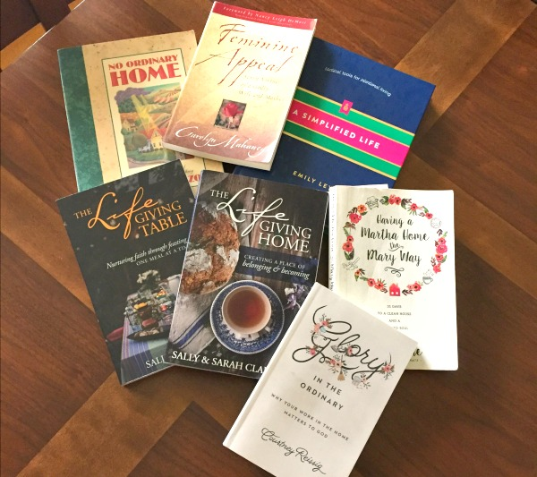 Gospel-focused homemaking books that are must read for today's Christian women