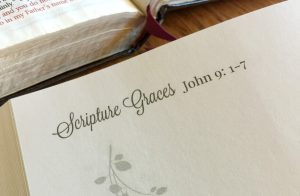 Scripture Graces
