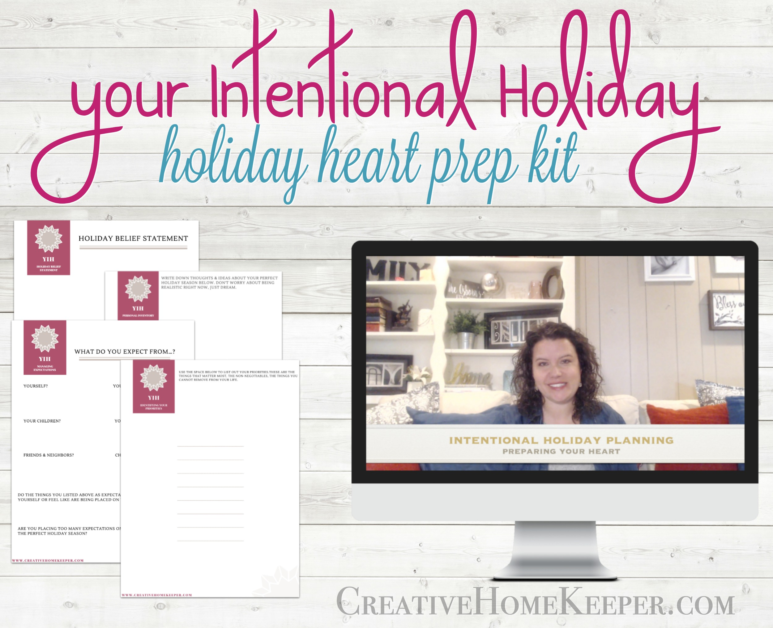 Your Intentional Holiday Heart Prep Kit