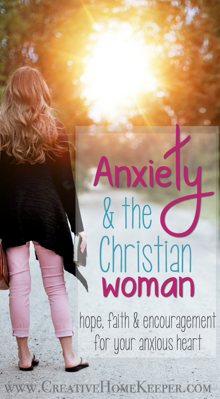 Anxiety and Christian women, especially, is all too common. Several of us have been struggling together, except we might not have known it because we have struggled alone.