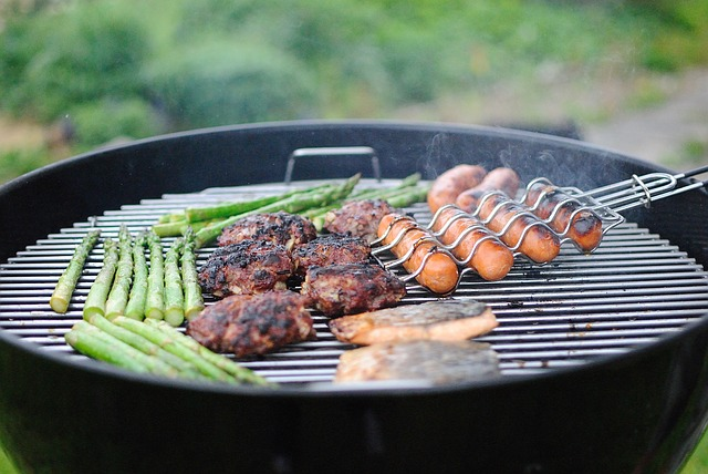 Grill summer meal