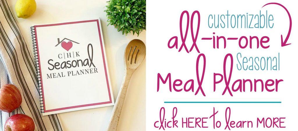 CHK Seasonal Meal Planner