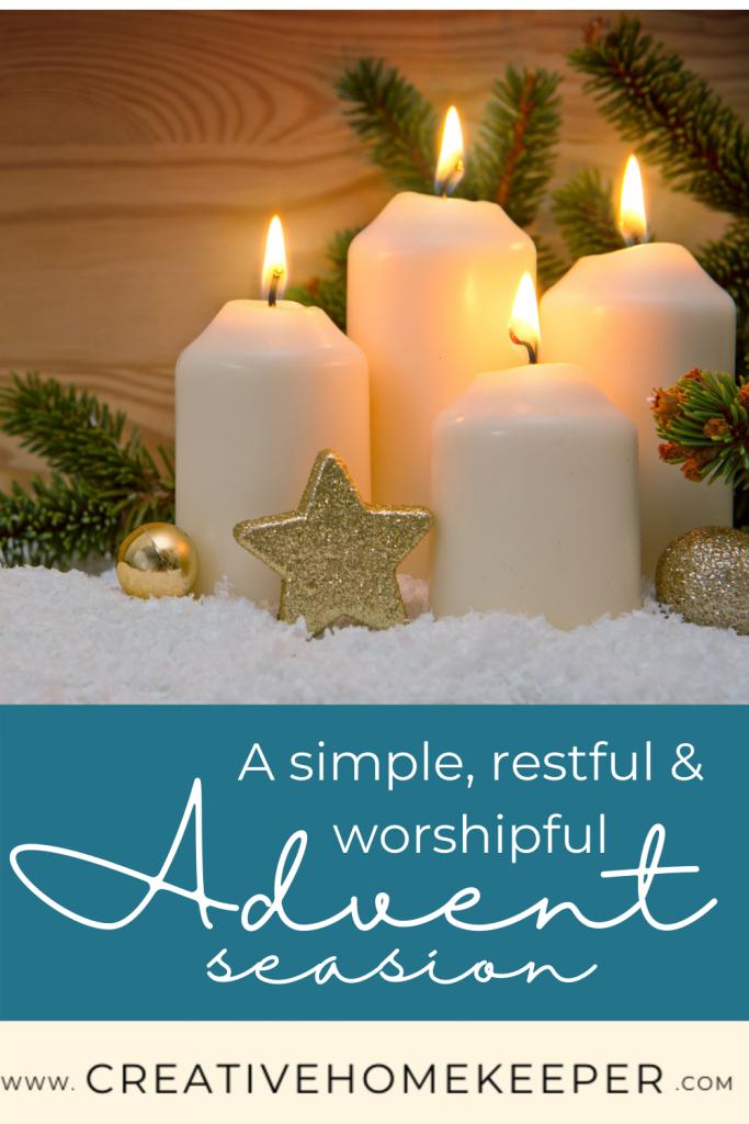 Simple Advent Season